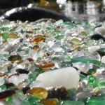 Playa de los cristales de Laxe en A Coruña