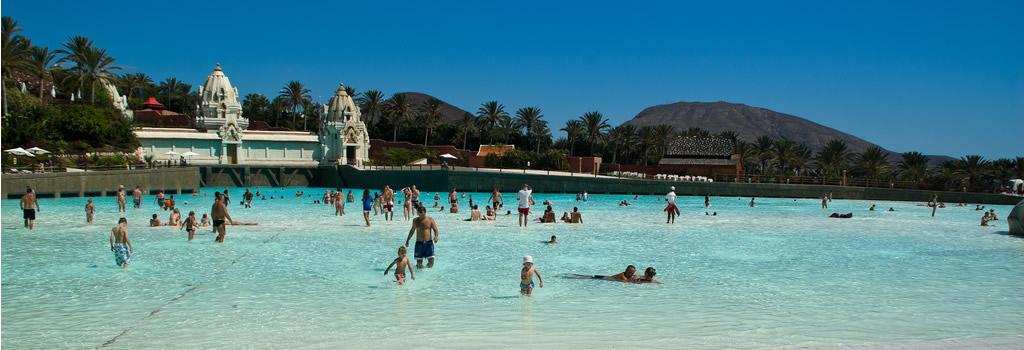 Parque acuático Siam Park en Playa de las Américas Tenerife